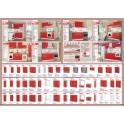 Горни модулни кухненски шкафове СИТИ