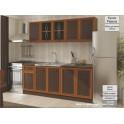 Модулни кухненски шкафове венге и швейцарска круша