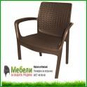 Градински стол имитиращ ратан БАЛИ