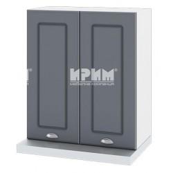 Кухненски горен шкаф с витрина  CITY 60 см.за абсорбатор БФ-06-12-13