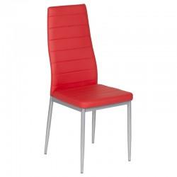 Стол за трапезария  червен