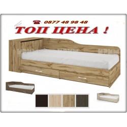 Легло СИТИ 2005 + матрак в четири цвята