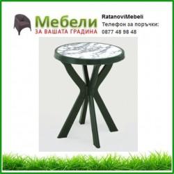 Пластмасова маса Дон ф70/72h