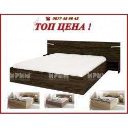 Спален комплект СИТИ 2007 с матрак -4 цвята