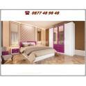 Спален комплект City 7017