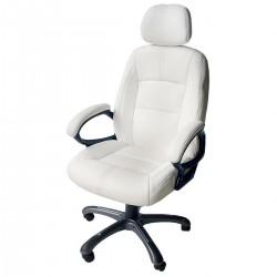Функционален въртящ се стол за офис - бял или черен