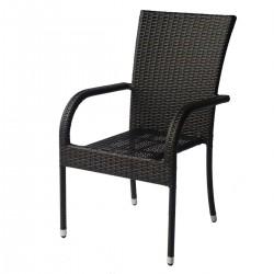 Градински стол от ратан за външни условия